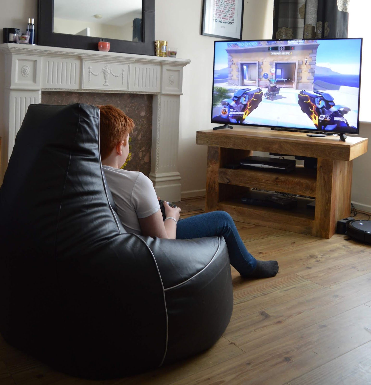 Actually, My Tweens Are Not Addicted To Their Xbox  - i-eX gaming chair for tweens from Bean Bag Bazaar