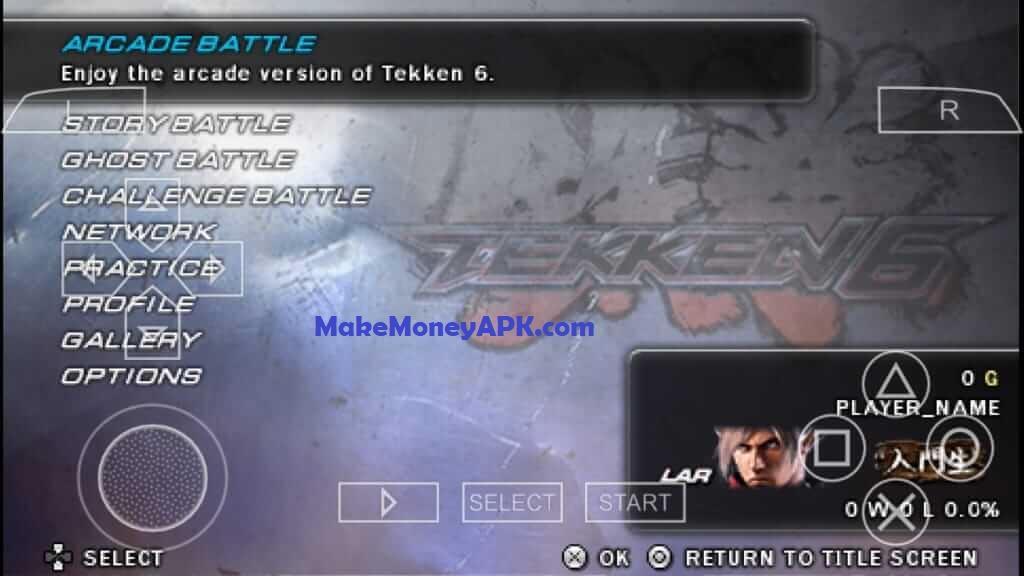 Download Tekken 6 Iso File For Ppsspp Compressed 340mb