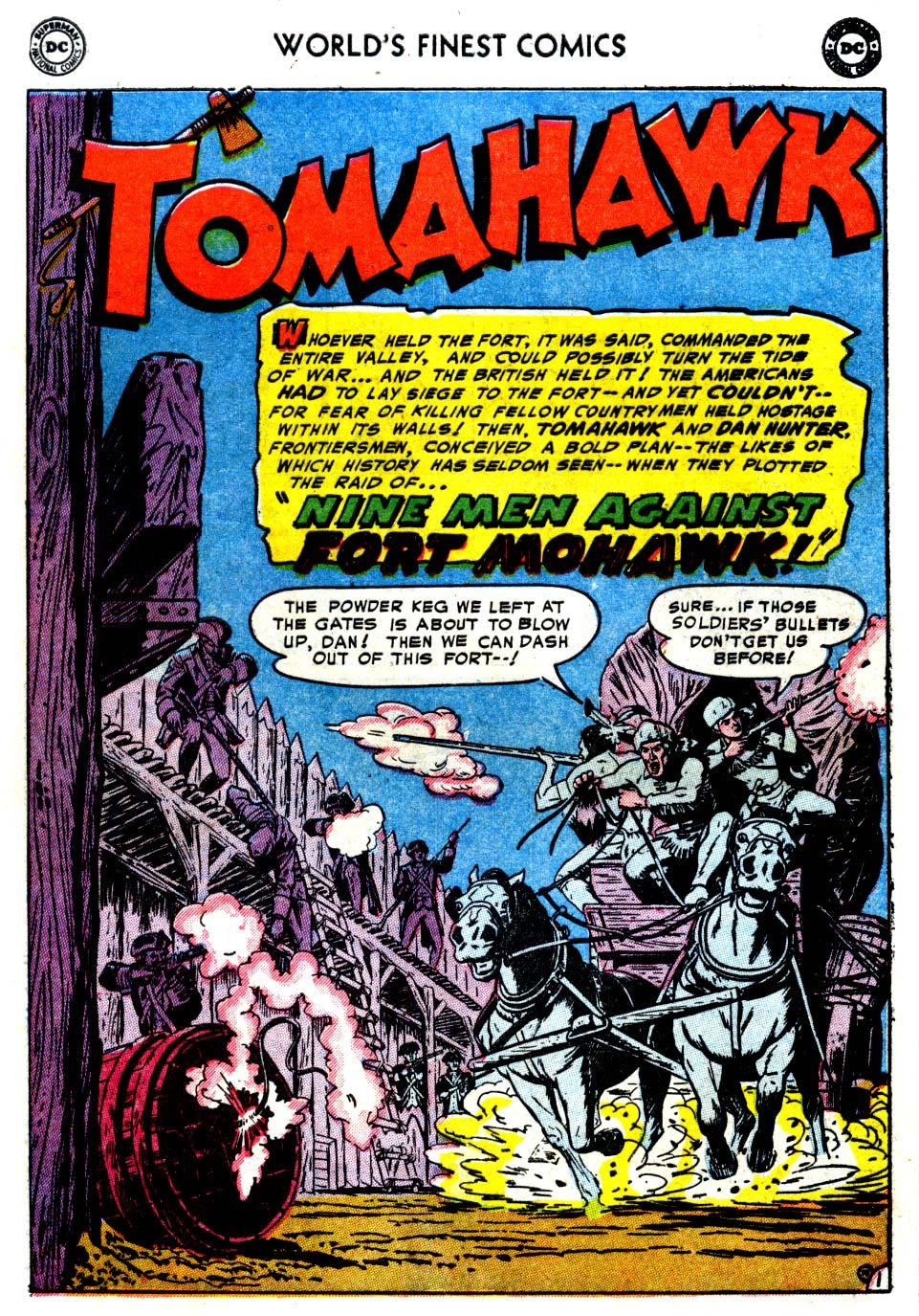 Read online World's Finest Comics comic -  Issue #68 - 16