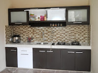 furniture interior semarang - kitchen set minibar 09