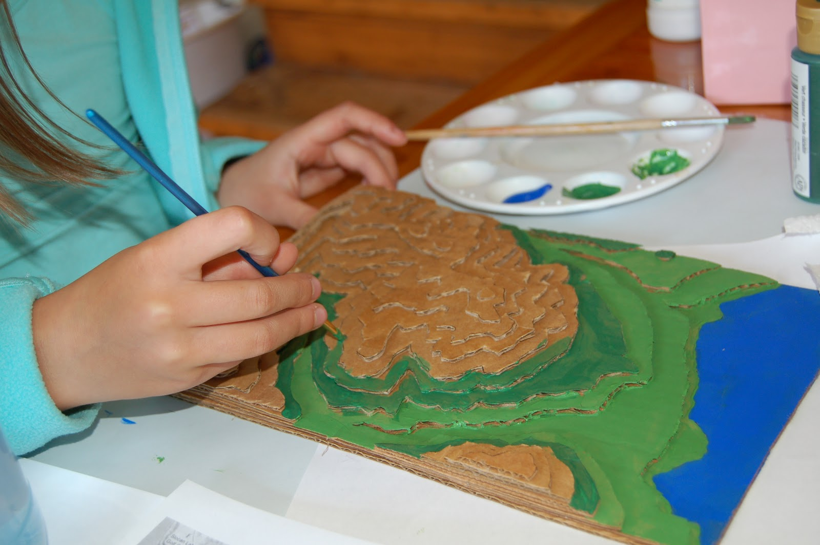 How To Make A 3d Topographic Map.We Live Here 3d Nurtured By Love