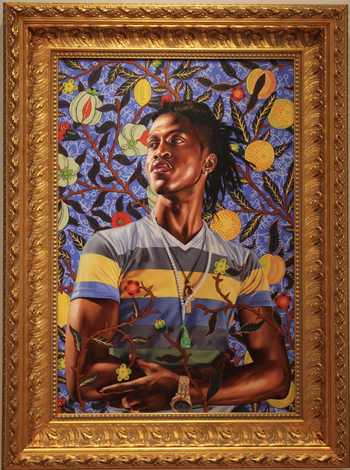 Naples and Hartford in Season: Kehinde Wiley