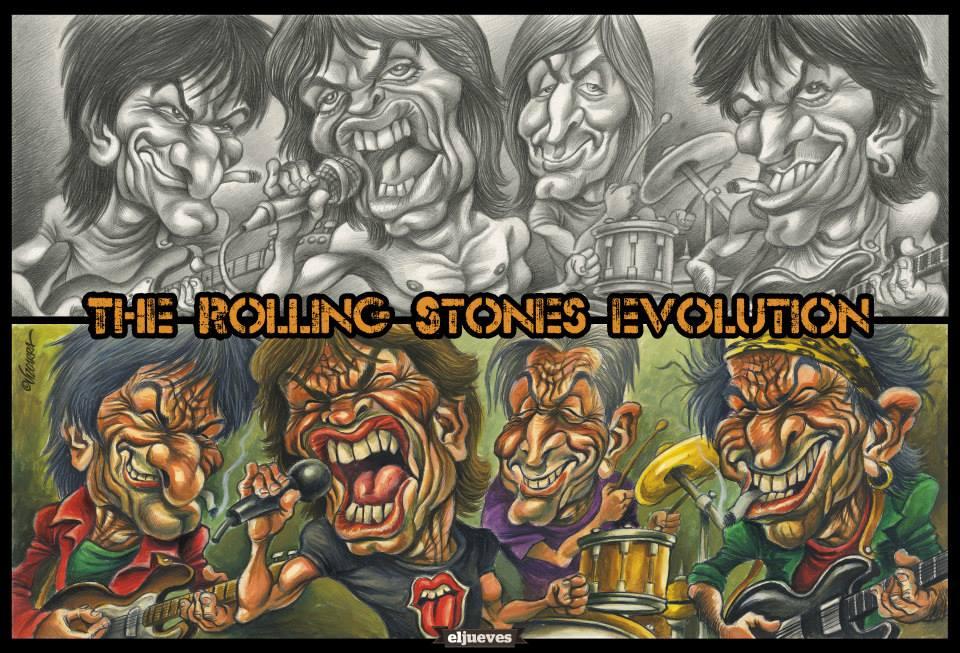 Rolling Stones por Joan Vizcarra