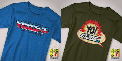 San Diego Comic-Con 2018 Exclusive Super7 Pop Culture T-Shirt Collection