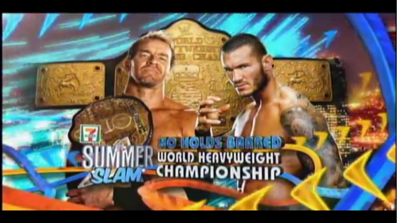 raw, smackdown and ppv matches: Summerslam 2011 match card!