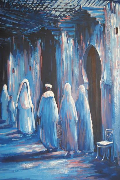 Culture Connoisseur Moroccan Paintings