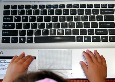 Teaching children to type