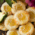Pineapple Coconut Thumbprint Cookies