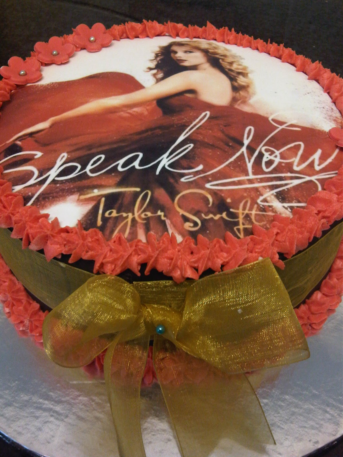 Welcome To Just Iced Taylor Swift Cake