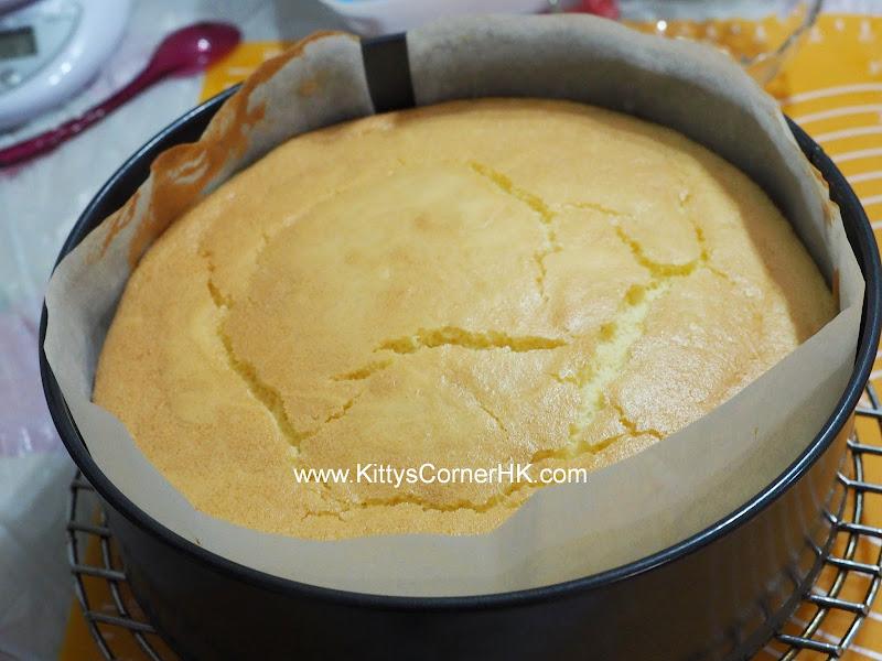 8-inch Basic Sponge Cake DIY recipe 8吋海棉蛋糕 自家烘焙食譜