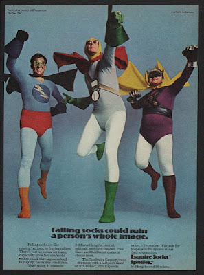 Esquire Socks - Falling socks could ruin a person's whole image