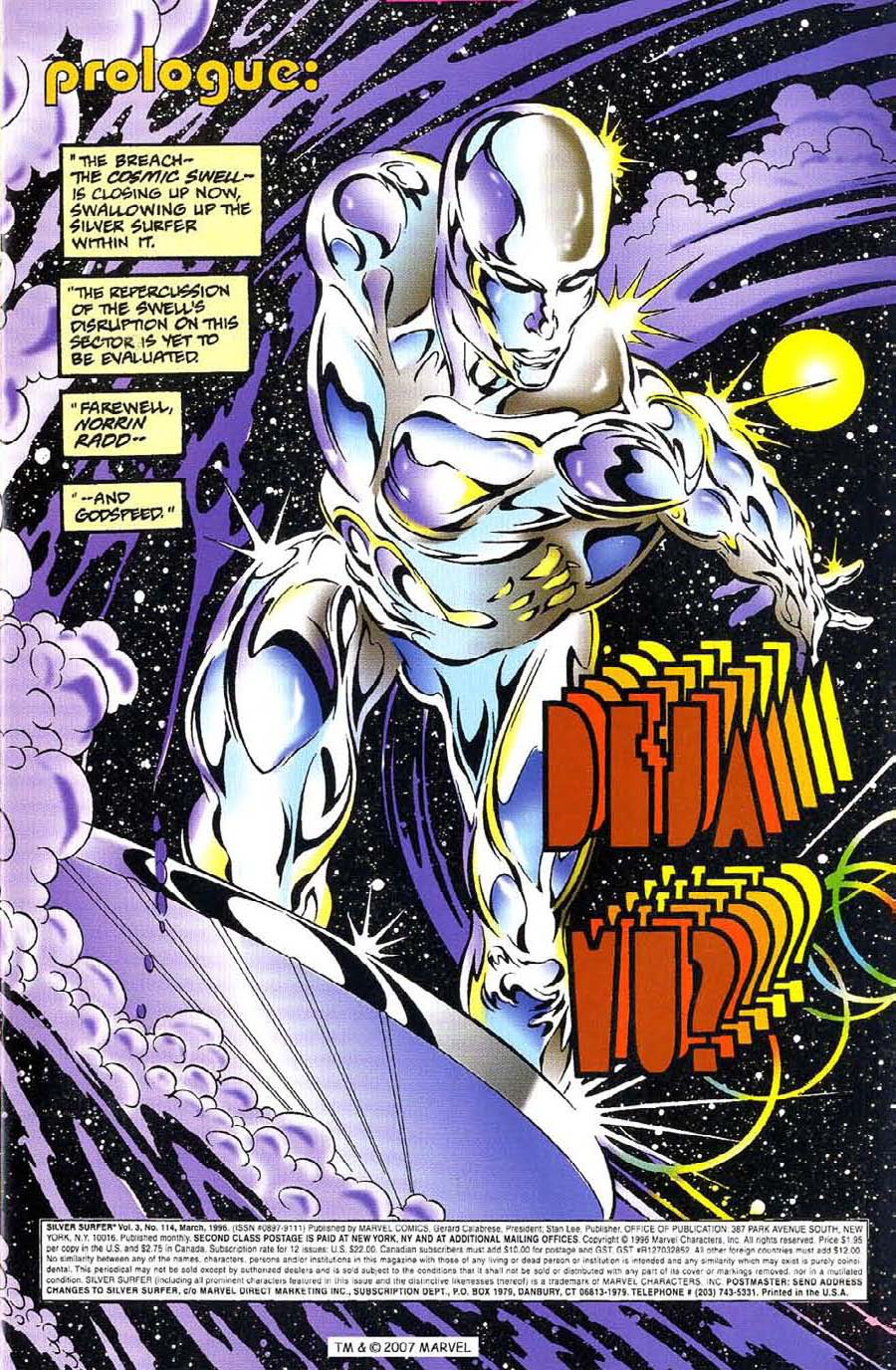 Silver Surfer (1987) Issue #114 #122 - English 3