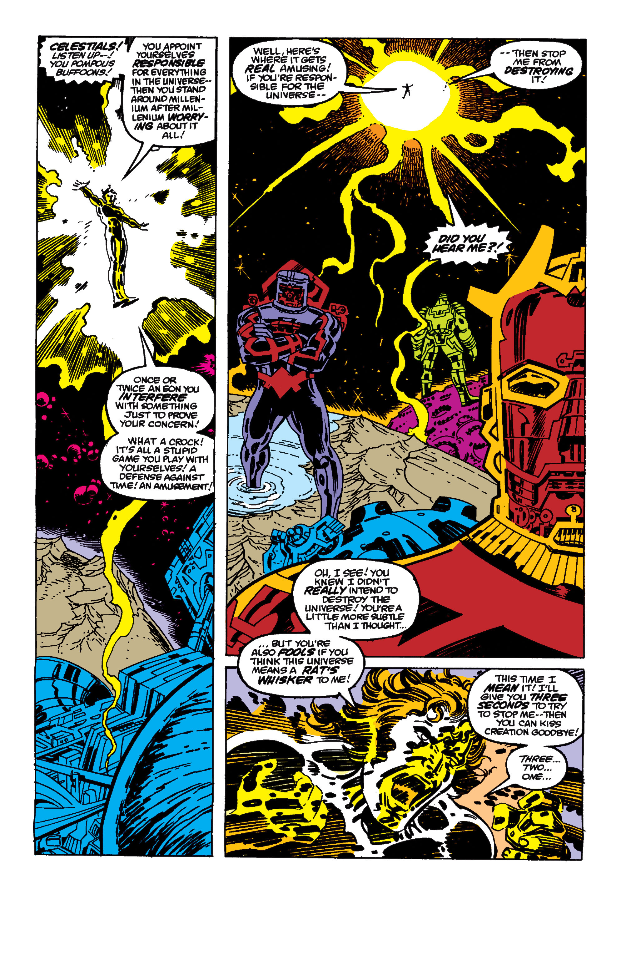Read online Secret Wars II comic -  Issue #5 - 18