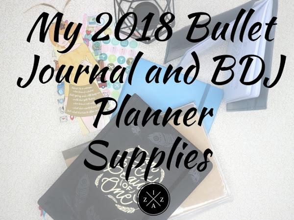 My 2018 Planner Supplies Philippines
