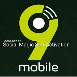 9mobile Social Magic Sim Activation 2019