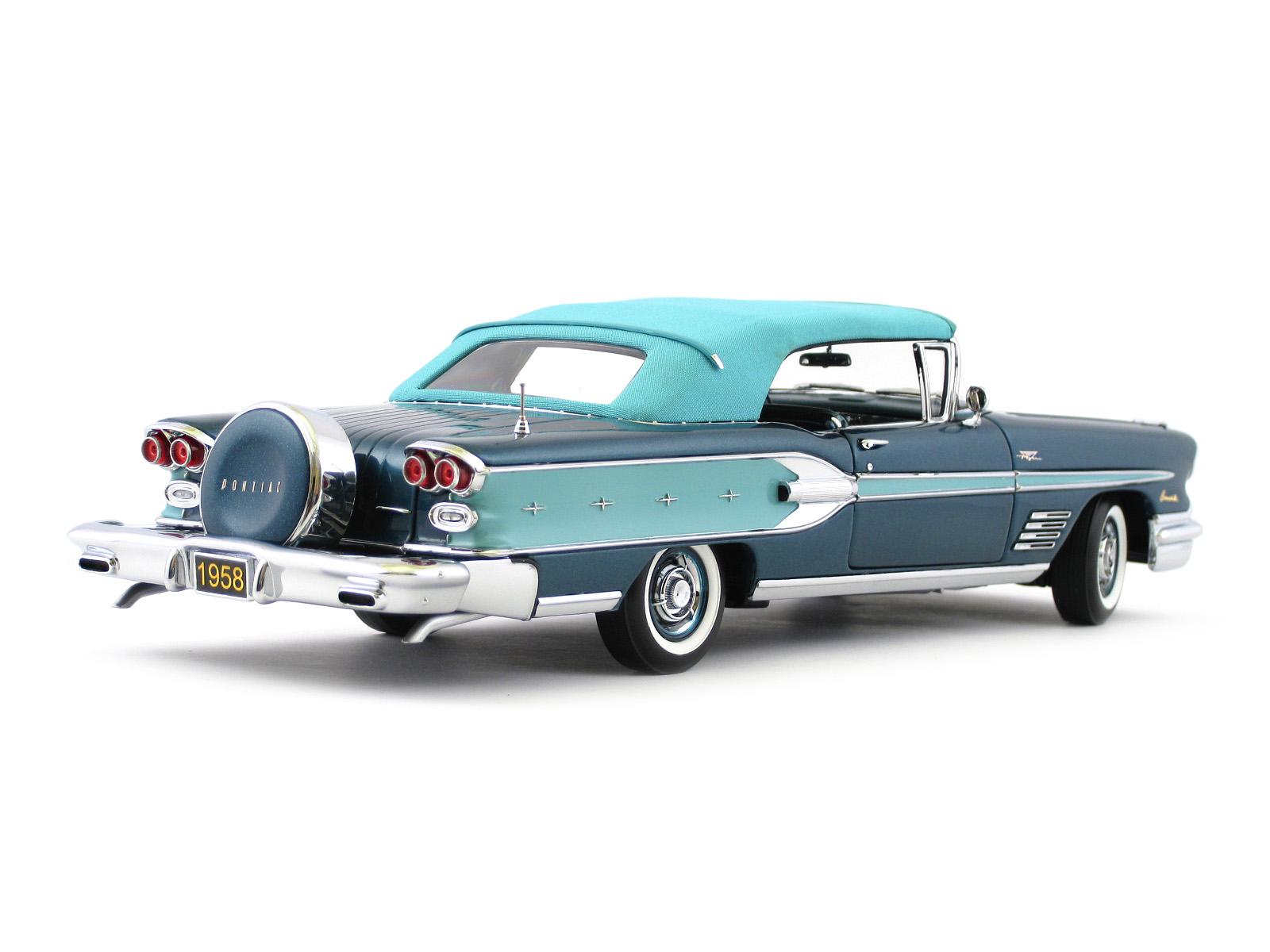 1958 Pontiac Bonneville Convertible Danbury Mint