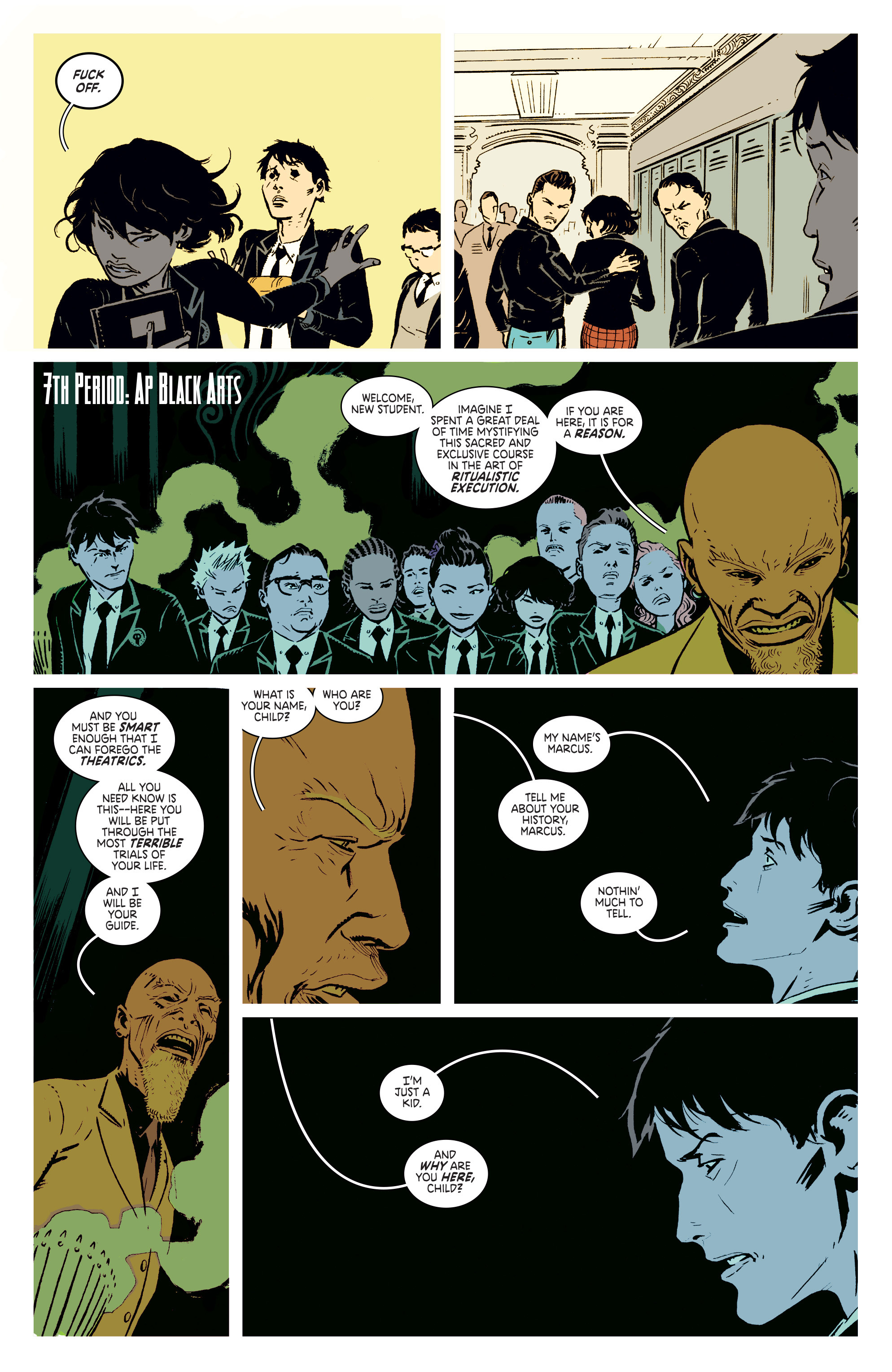 Read online Deadly Class comic -  Issue #2 - 22