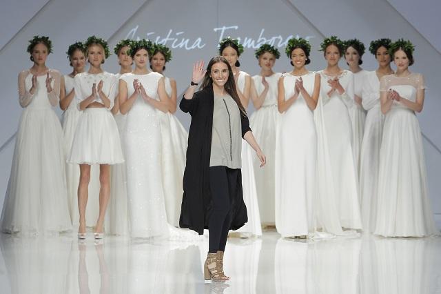 cristina tamborero barcelona bridal week coleccion 2017