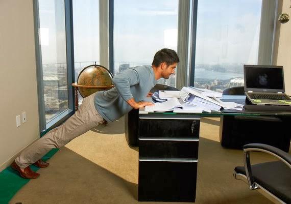 Desk Push Ups