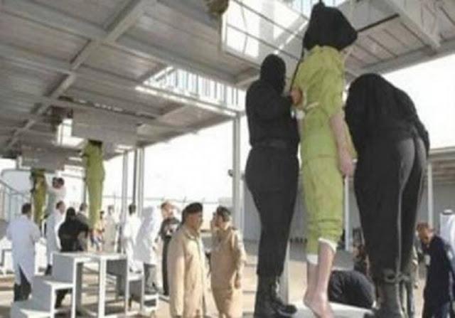 حكم عليها بالاعدام لقتلها زوجها وطفليها وعند تنفيذ الحكم كانت المفاجأة! أعطتهم شيئاً صدم الجميع!