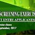 FUOYE 2017/18 UTME/DE Admission Screening Exercise- [Cutoff Mark: 150]