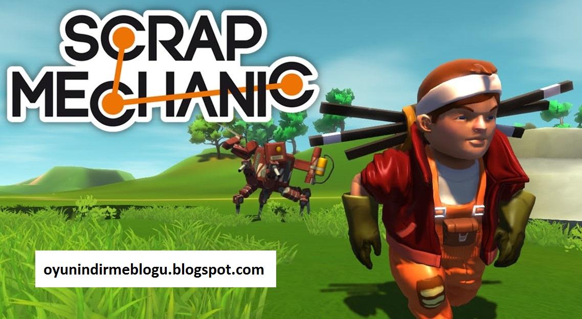 Scrap Mechanic - FULL İndir - Tek Link İndir (2016) - Oyun İndir