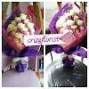 Kado Bunga Valentine Mawar Putih