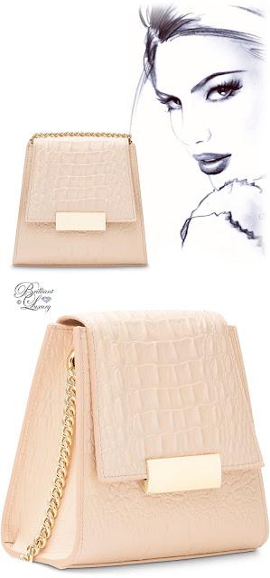 Brilliant Luxury ♦ Boudoir des Lubies Paris ~ Capucine Croco Bag #nude