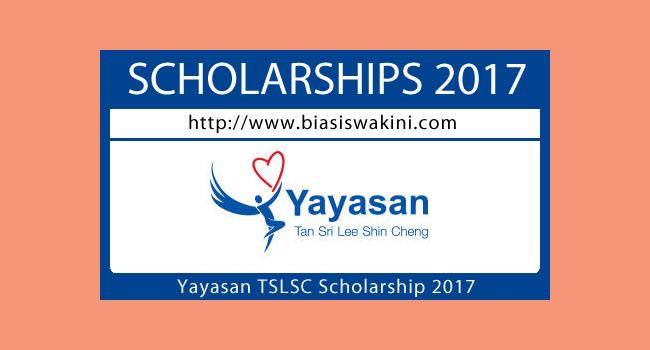 Yayasan TSLSC Scholarship 2017