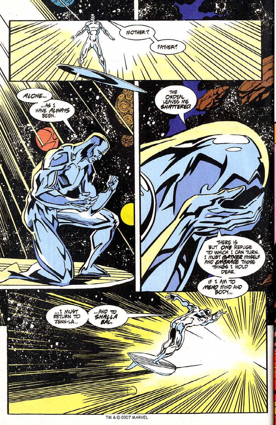 Read online Silver Surfer (1987) comic -  Issue #100 - 46
