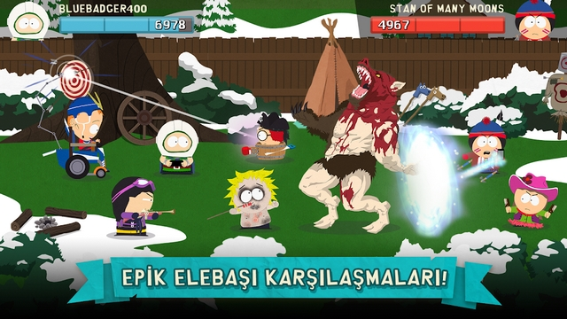 south park phone destroyer hile apk