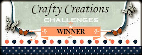 Crafty Creations Gagnante Challenge # 416 Anything Goes