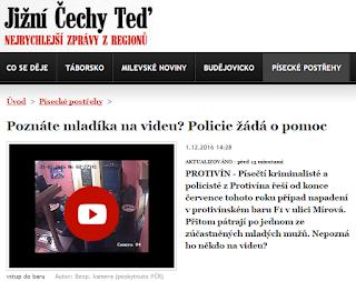 Protivín /pisecke-postrehy/poznate-mladika-na-videu-policie-zada-o-pomoc/
