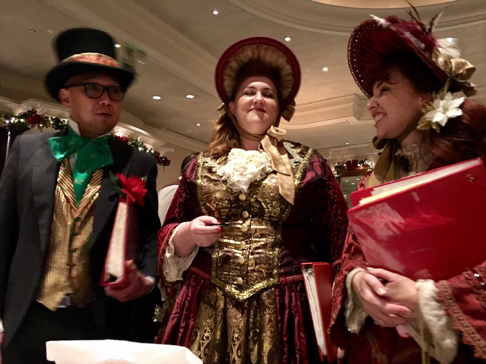 Lawry's Prime Rib Beverly Hills Christmas Carolers