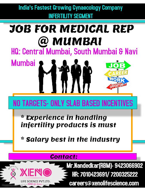 Xeno Pharmaceuticals Urgent recruitment Click Here for job