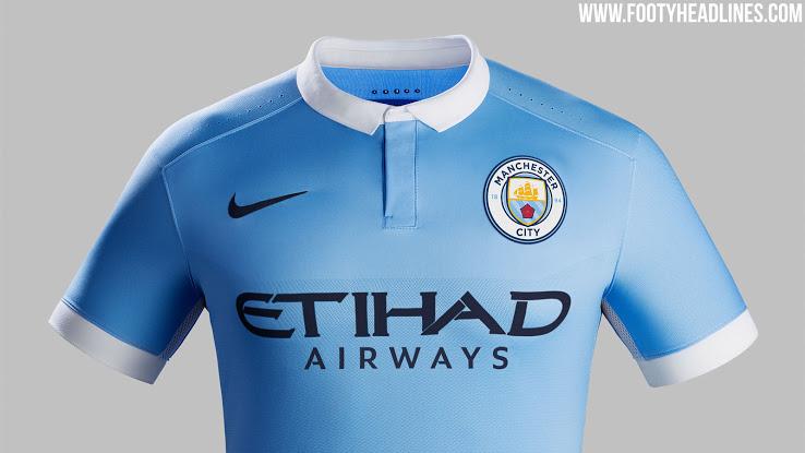 Wie Wird Das Neue Wappen Auf Manchester Citys 16 17 Trikots