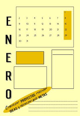calendario, imprimible, a4, pdf, descargar, gratis, para pintar,