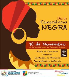 Dia da Consciência Negra tem Atividades Culturais em Registro-SP