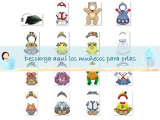 http://misrecursosparalaeducacioninfantil.blogspot.com.es/2014/06/munecos-para-confeccionar-orlas.html