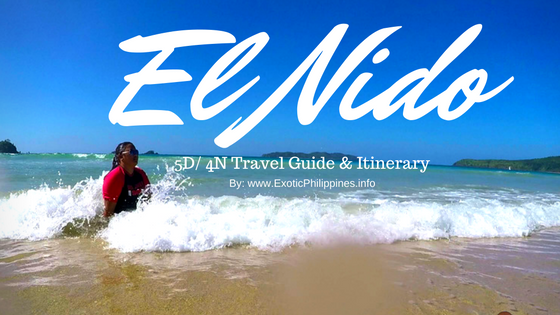 5D4N El Nido Palawan Travel Guide and Itinerary Exotic Philippines Travel Blog Bloger vlogger Vlog Video YouTuber Expenses