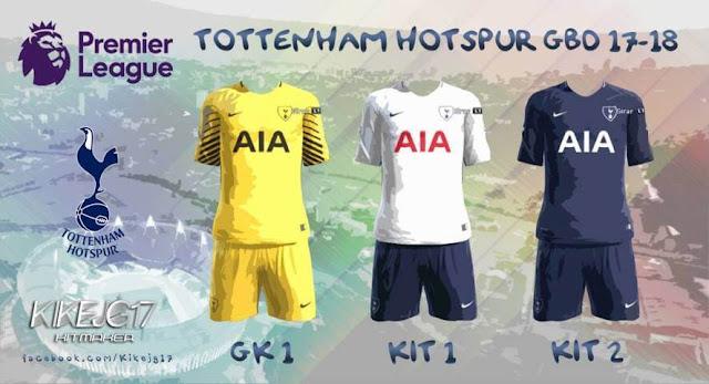 Kits Tottenham Hotspur 2017-18 PES 2013
