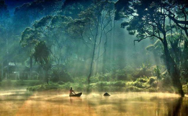 Danau ditengah hutan, Situ Gunung, Sukabumi