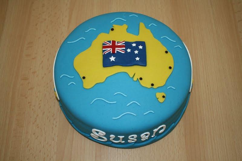 taart australie Karin's Taarten: Australië taart taart australie