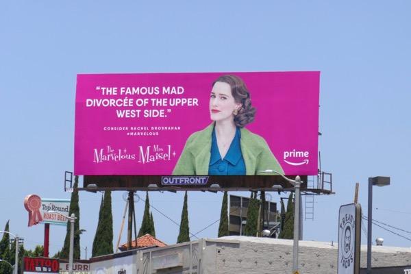 Mrs Maisel Rachel Brosnhan Emmy FYC billboard