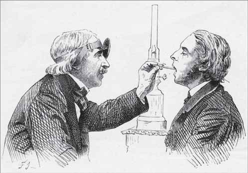 Manuel García, a Spanish vocal pedagogue, is attributed with the invention of world's first laryngoscope