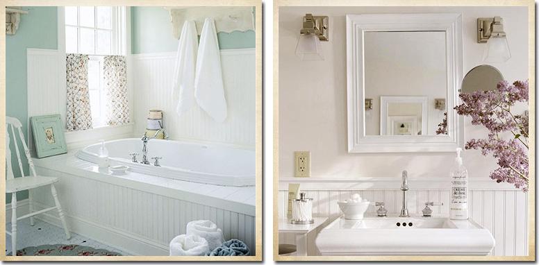 Ispirazione per il bagno shabby chic interiors - Bagno shabby immagini ...