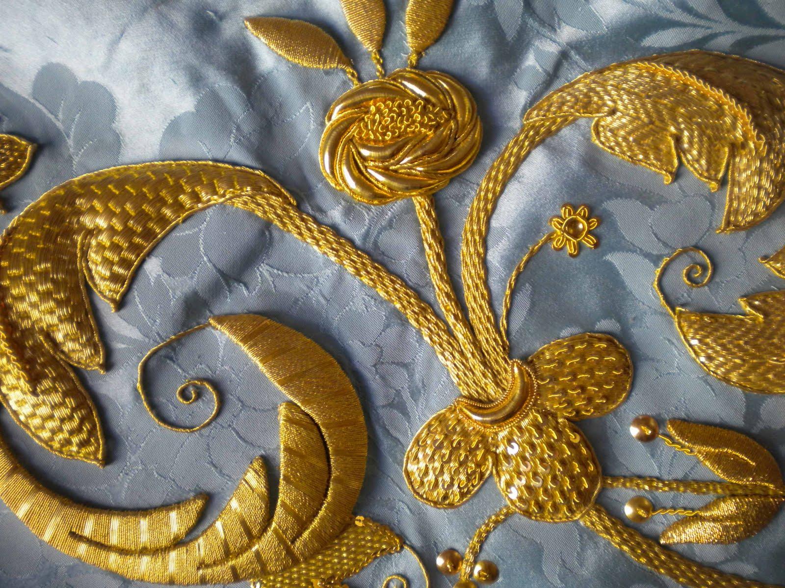 El blog de dmc el bordado en oro for Que es una beta de oro