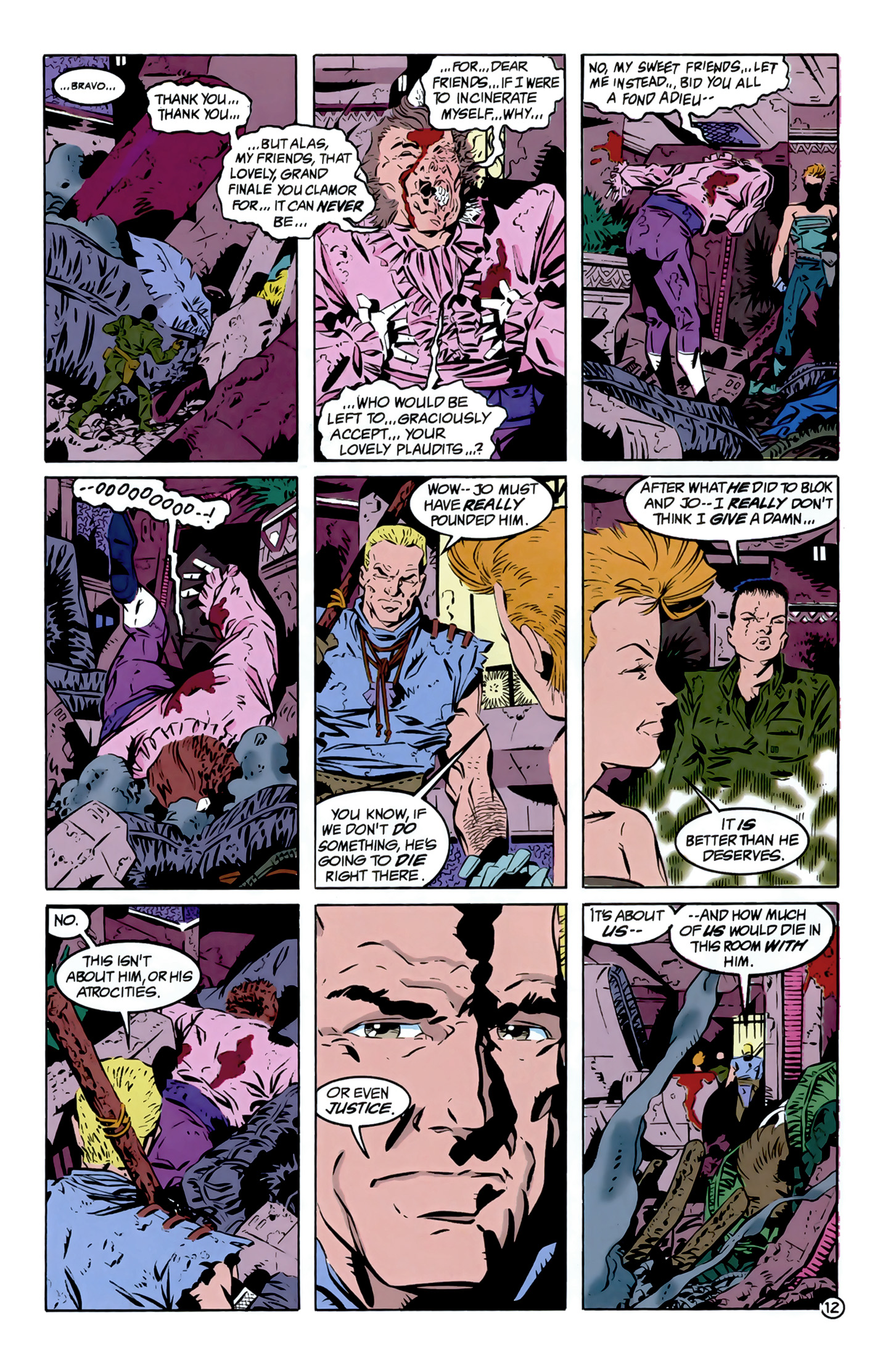 Legion of Super-Heroes (1989) 12 Page 12