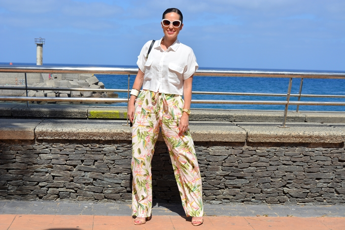 zara-cropped-shirt-and-palazzo-pants-look