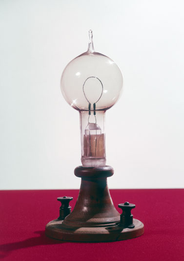 My interest thomas alva edison inventor of bulb for Lampada a lampadina